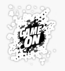 Game On Spot Sticker
