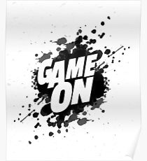 Game On Spot Poster