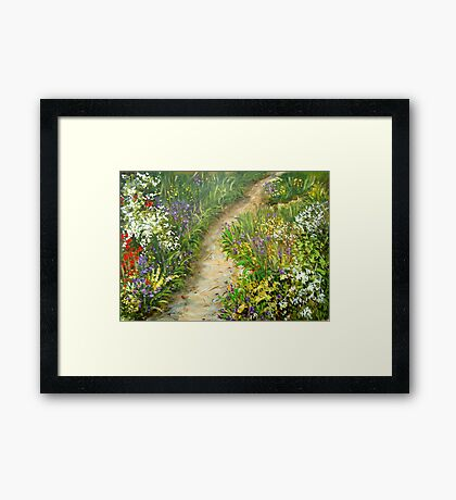 Road to Recovery Framed Print