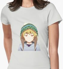 The Yukine Stare - White Womens Fitted T-Shirt
