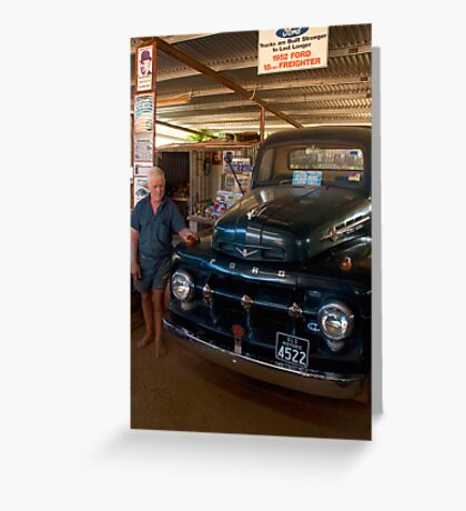 Still going strong - '52 Ford Freighter Greeting Card