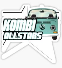 Volkswagen Kombi Tee Shirt - Kombi Allstars Lowlight Sticker