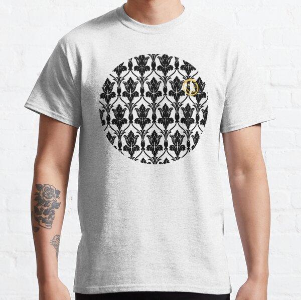 Sherlock smile wallpaper Classic T-Shirt