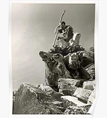 Wizzard of rocks Poster