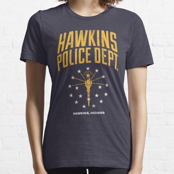 Departamento de Policía de Hawkins Camiseta esencial