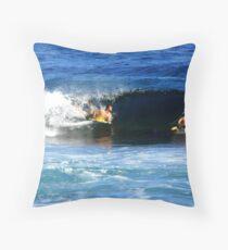 Surfing Puerto Rico Throw Pillow