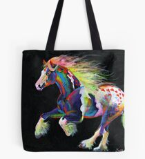 Trail Of Hearts Pony Tote Bag