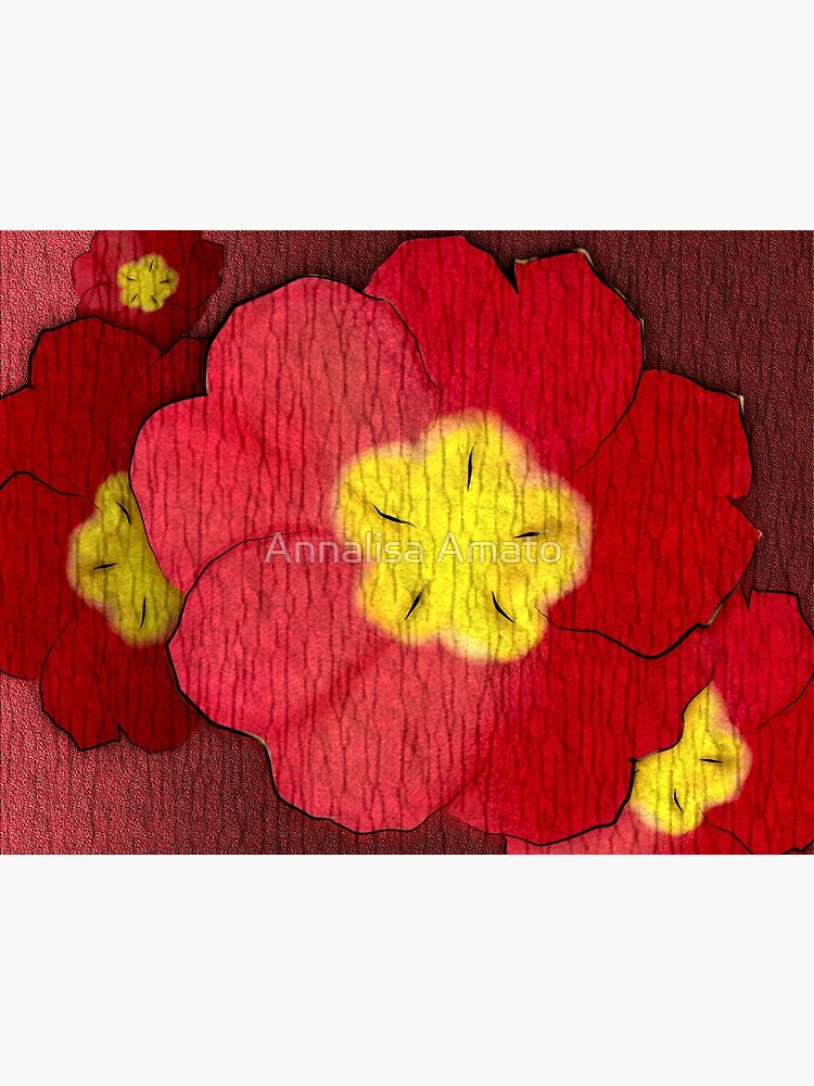 Red Evening Primrose by annalisaamato