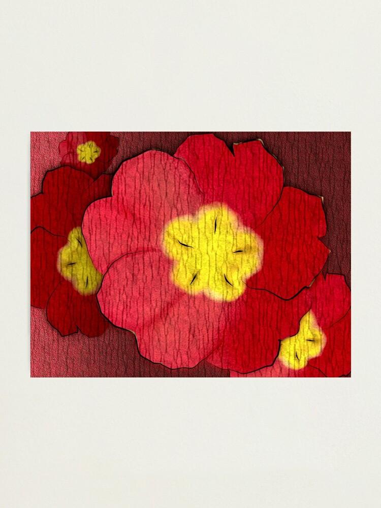 Alternate view of Red Evening Primrose Photographic Print