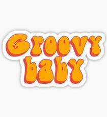 Groovy Baby Sticker
