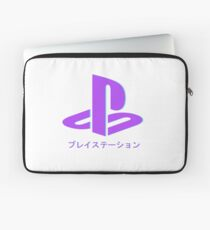 Playstation Aesthetic Neon Laptop Sleeve