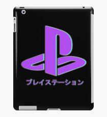 Playstation Aesthetic Neon iPad Case/Skin