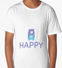 Happy Teddy Bear Long T-Shirt