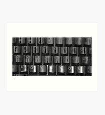 Love Keyboard Art Print