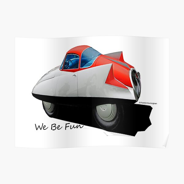 Imaginative Extreme Cars Art Poster