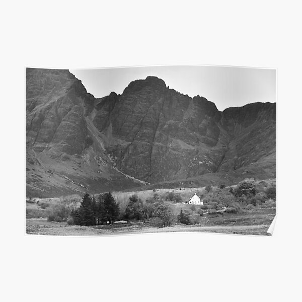 The Far Cuillins Poster