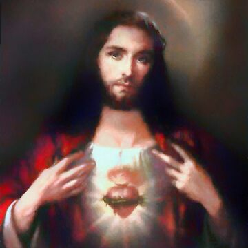 The Sacred Heart of Jesus by Albert