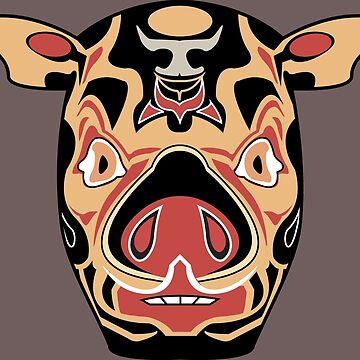 AMFP Pig Mask by ZerachielAmora