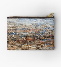 Expressions in Blue II Studio Pouch