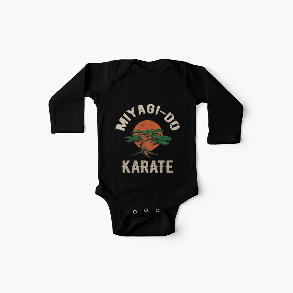 Miyagi tun Karate-Distress-T-Shirt Baby Bodys