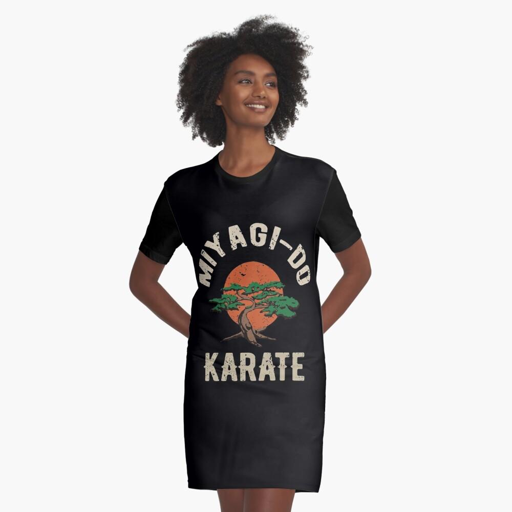 Miyagi tun Karate-Distress-T-Shirt T-Shirt Kleid