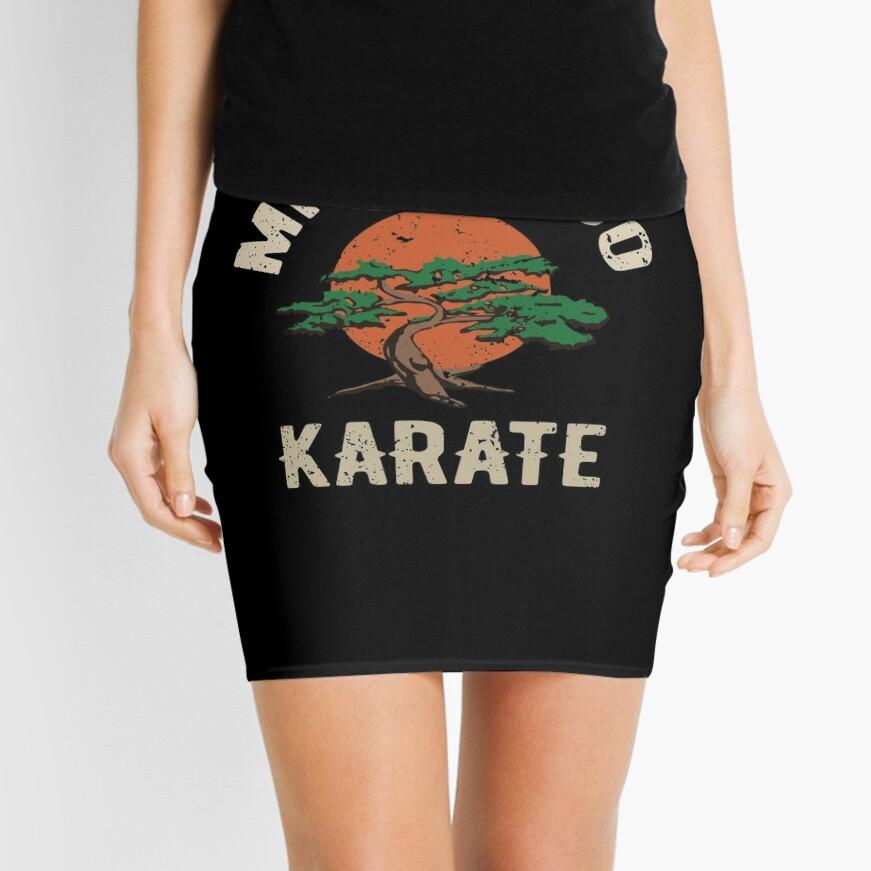 Miyagi tun Karate-Distress-T-Shirt Minirock