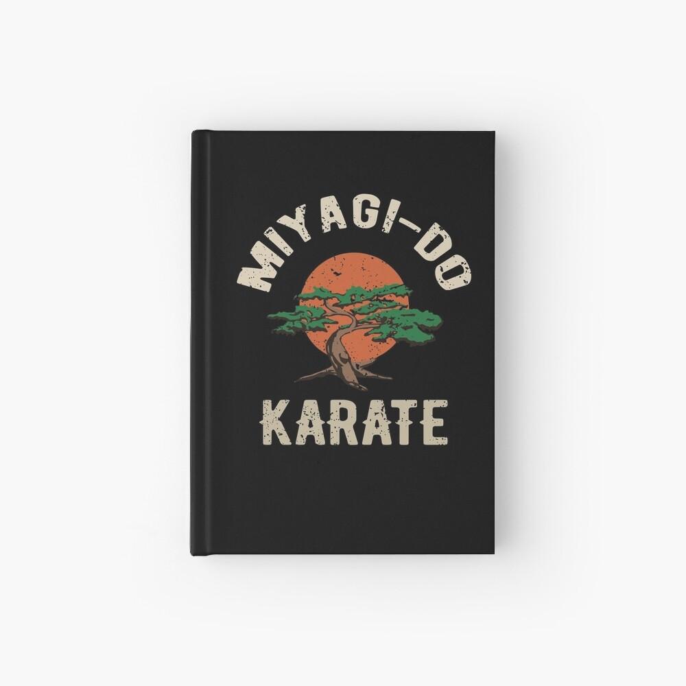 Miyagi tun Karate-Distress-T-Shirt Notizbuch