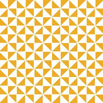 Pinwheel in Yellow and White by JoniandCo