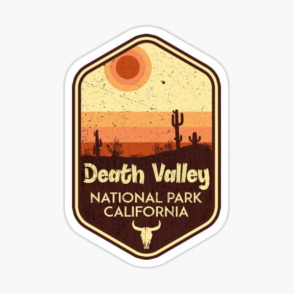 Death Valley National Park California Cactus Sticker