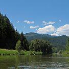 Floating on the Coeur d'Alene River by Barb White