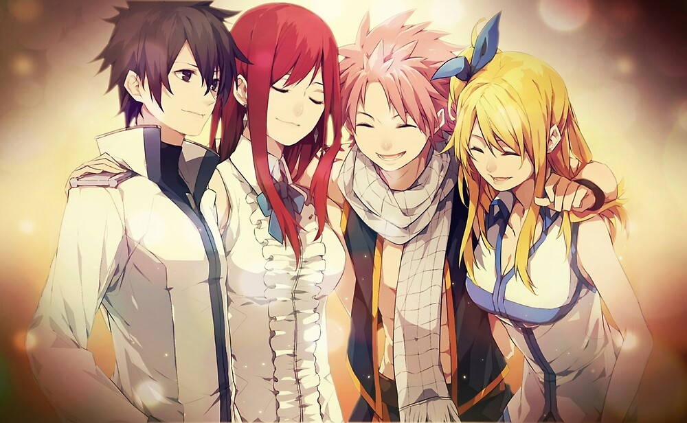 Fairy Tail Erza And Lucy