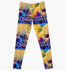 Bodhi Loves Daddy 2 Leggings