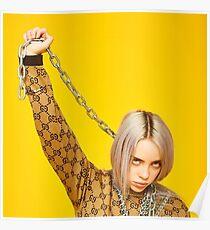 Billie Eilish Merchandise Poster