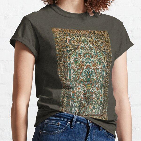 Sarouk Persian Rug Print Classic T-Shirt