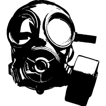 Gas Mask by jaredfin