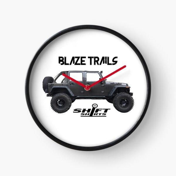 Shift Shirts Blaze Trails - Rubicon Inspired Clock
