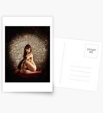 Glitter & Satin Postcards