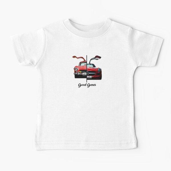 Camisas de cambio Good Genes - 300L Gullwing Inspired Camiseta para bebés