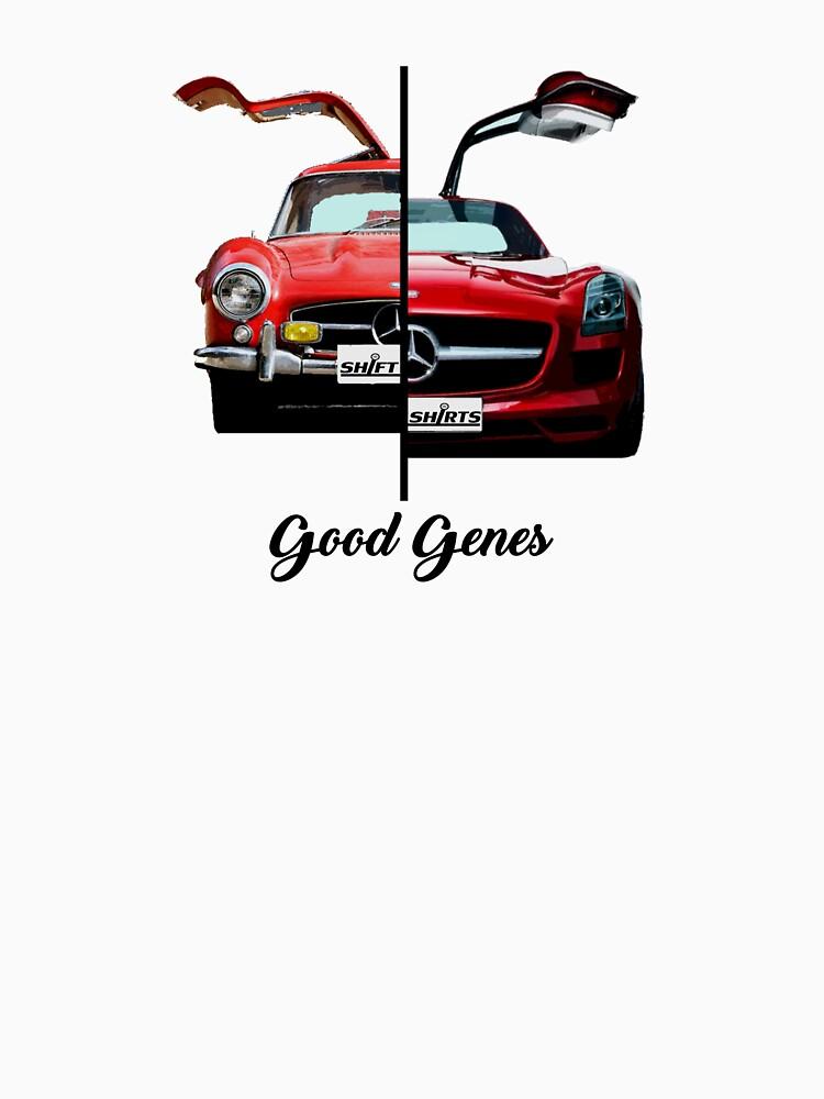 Shift Shirts Good Genes - 300L Gullwing Inspired by ShiftShirts