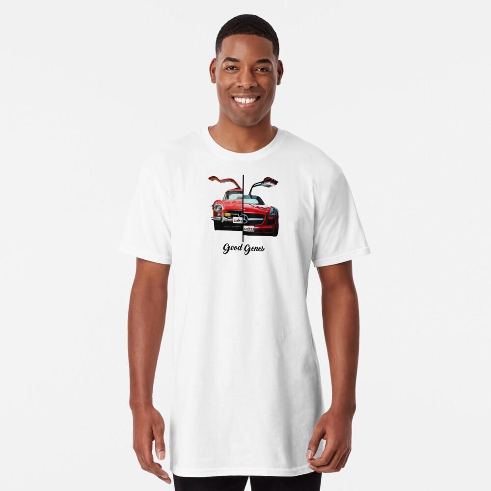 Shift Shirts Good Genes - 300L Gullwing Inspired Long T-Shirt