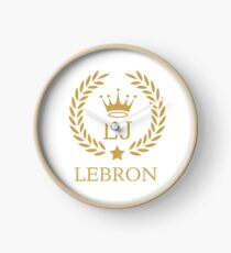 King LeBron Clock