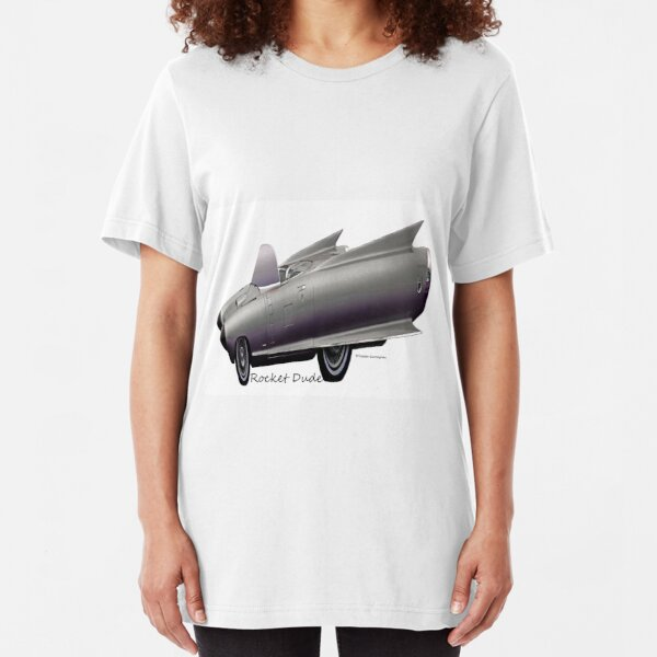 Imaginative Extreme Cars Art Slim Fit T-Shirt