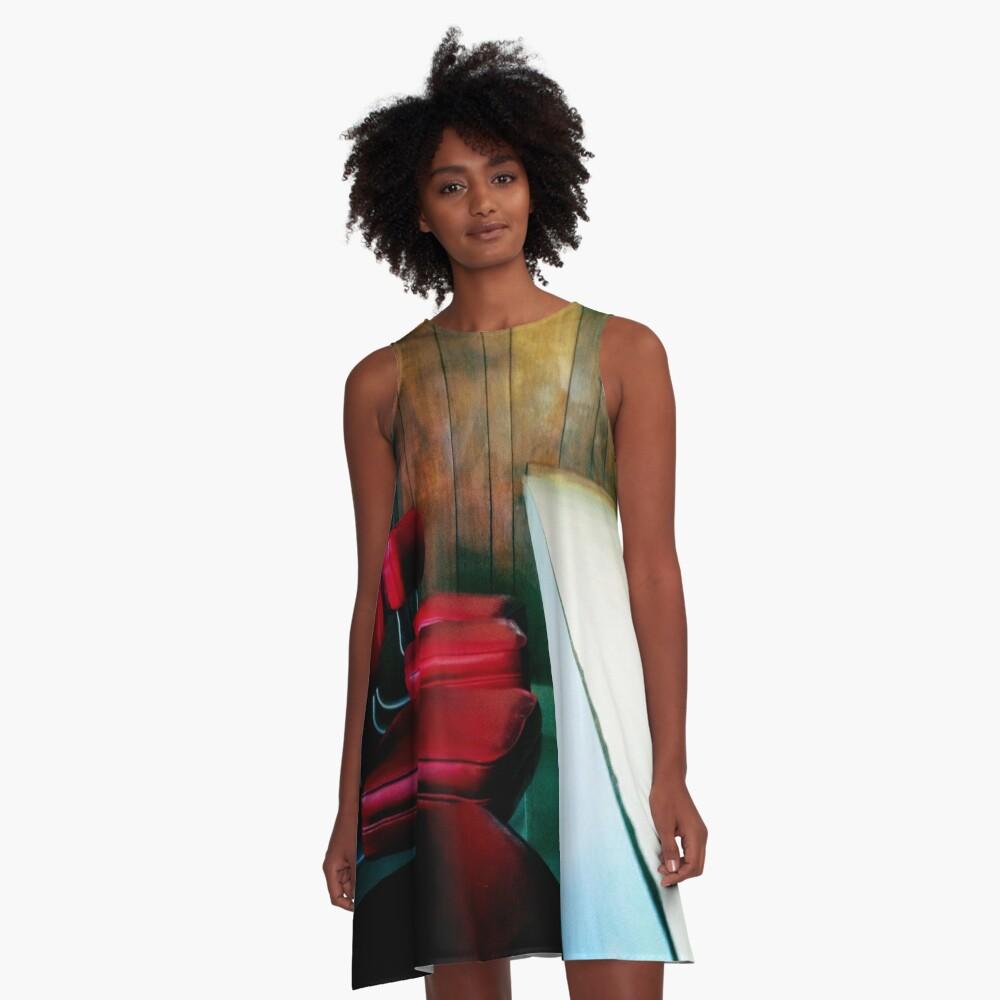 Apple Pan A-Line Dress