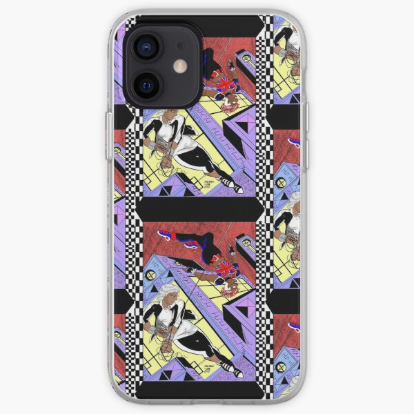 Uncanny Girl and Rhona Silvestri Fly by Night  iPhone Soft Case
