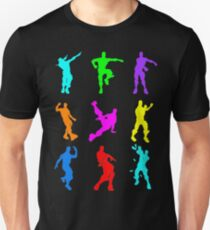 FORTNITE Emote Colorful Unisex T-Shirt