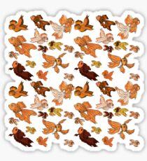 Fancy Goldfish Pattern Sticker