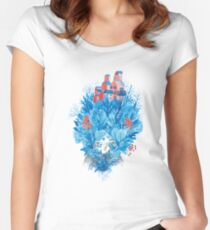 We are nature Women's Fitted Scoop T-Shirt