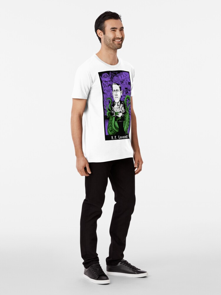 Alternate view of Lovecraft (Color) Premium T-Shirt