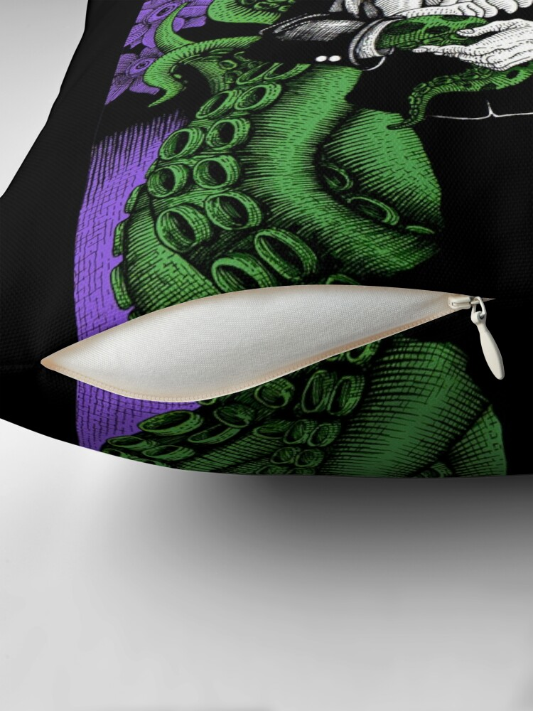 Alternate view of Lovecraft (Color) Floor Pillow