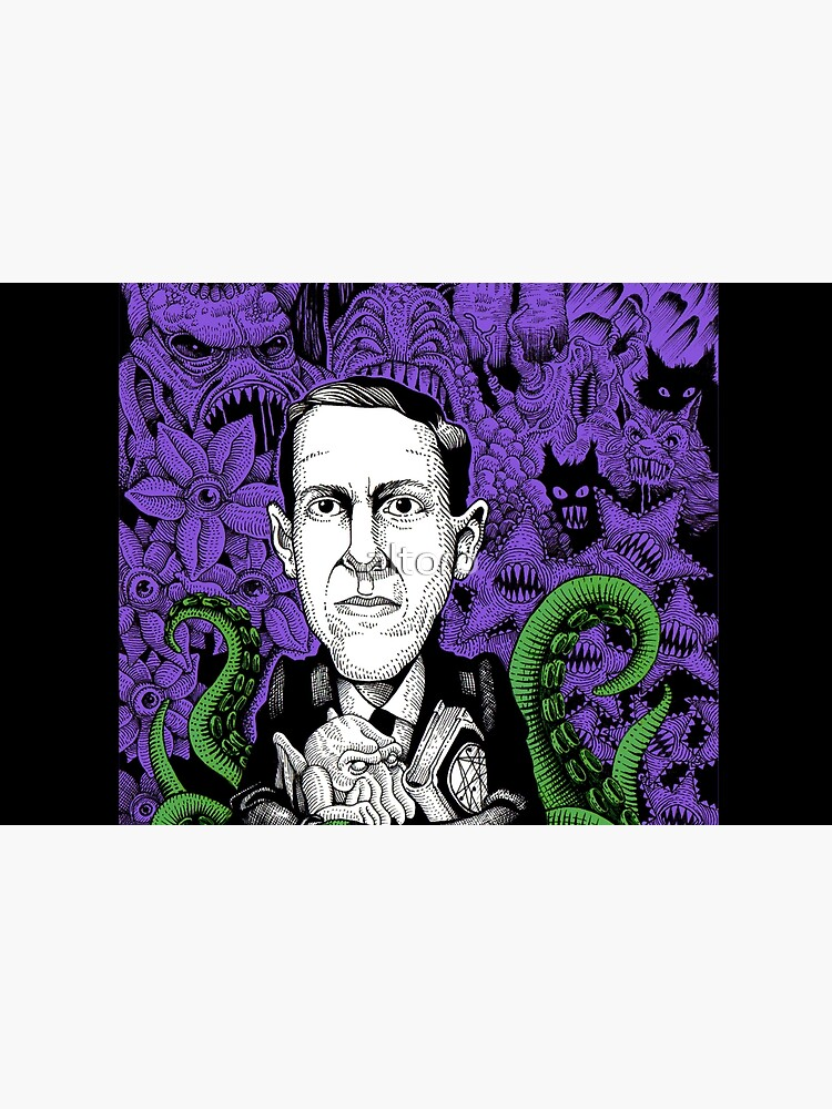 Lovecraft (Color) by altoro
